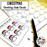 Christmas Activities Counting Task Cards