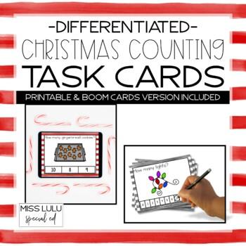 Christmas Counting Task Cards