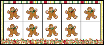 Christmas Counting Ten Frames