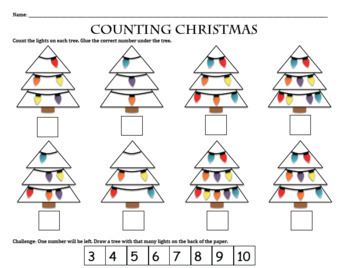 Christmas Math Activities: Great Homework, Independent Practice, or Morning Work