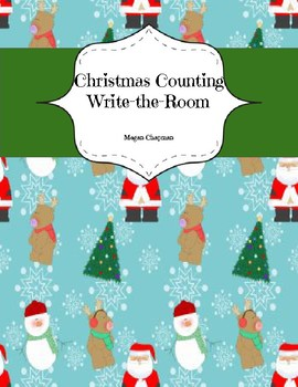 Christmas Counting Write-the-Room