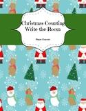 Christmas Counting Write-the-Room
