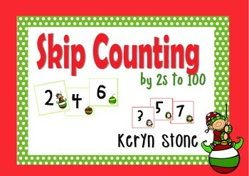 Christmas Counting by 2s