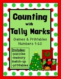 Christmas Counting with Tally Marks: Games & Printables-Numbers 1-20