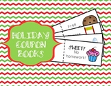 Christmas Coupon Book - Fun (and cheap!) Christmas Gift for Students!