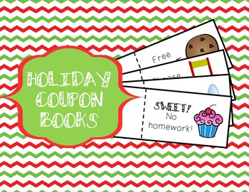 christmas coupon book fun and cheap christmas gift for students