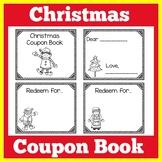 Christmas Coupon Book | Preschool Kindergarten | Christmas