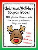 Christmas Coupon Book - Student Made