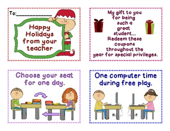 Christmas Coupon Booklet