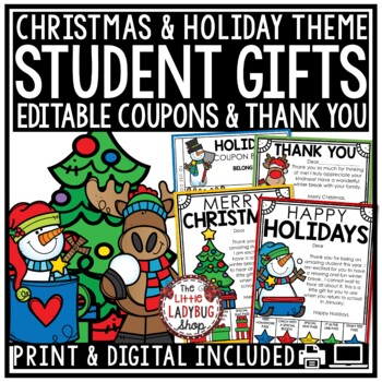 Christmas Coupons For Students Teaching Resources Teachers Pay