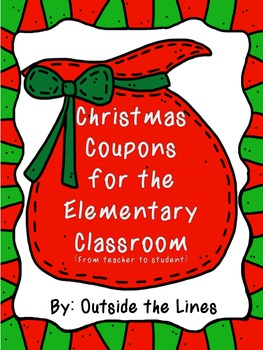 Christmas Coupons -Gift for students