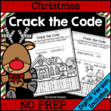 Christmas Crack the Code | Printable & Digital