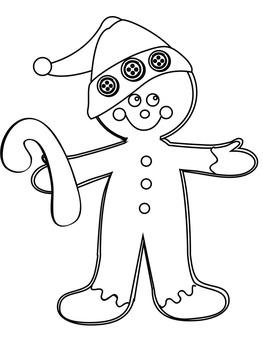 Gingerbread Man Craft