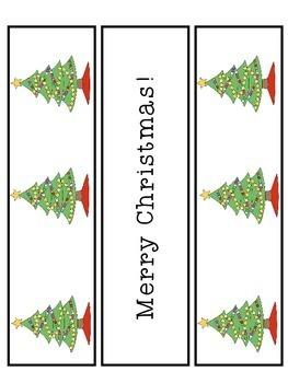 Santa Craft Christmas Craftivity