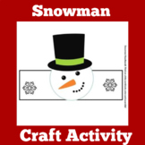 Snowman Craft Winter