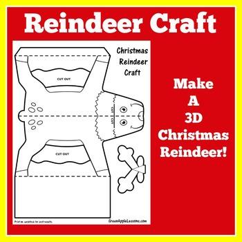 Christmas Craft | Reindeer Craft | Christmas Craft Night | Christmas Activity