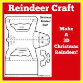 Christmas Craft   Preschool Kindergarten 1st Grade   Reind