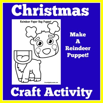 Reindeer Craft | Christmas Craft | Christmas Craft Night | Christmas Craftivity