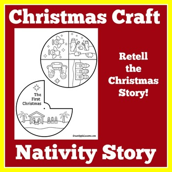 Christmas Craft | Christmas Activity | Christmas Craftivity | Nativity