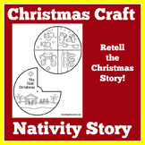 Christmas Nativity | Nativity Craft | Nativity Activity | Christmas Religious