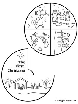 Christmas Nativity | Nativity Craft | Nativity Activity | Christmas Religious