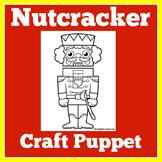 Christmas Craft | Preschool Kindergarten 1st Grade | Nutcr