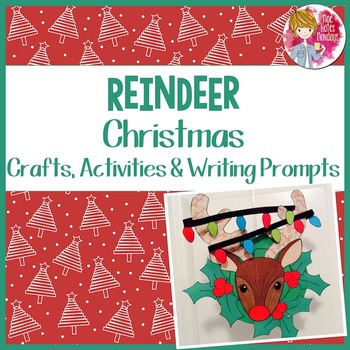 Christmas Craft - Reindeer Wreath
