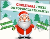 Christmas Craft Activity: Christmas Joke Popsicle Pennants!