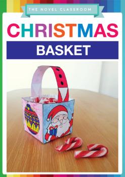 Christmas Basket Template - Christmas Craft Activity