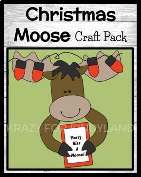 Christmas Lights Moose Craft