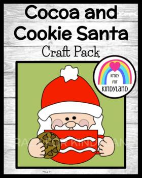 Christmas Craft: Cocoa And Cookie Santa