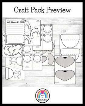 Christmas Craft: Cozy Pack: Mug, Pajama and Conductor Kids, Hat, Train