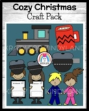 Polar Express Book Crafts for K: Mug, Pajama & Conductor Kids, Hat, Train