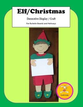 Christmas Craft - Elf