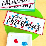 Christmas Craft - Finger painting Craft