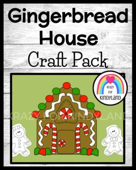 Christmas Craft: Gingerbread House and Gingerbread People Paper Dolls