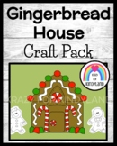 Christmas Craft  with Gingerbread House and Gingerbread People Paper Dolls