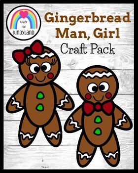 Christmas Craft: Gingerbread Man Kids