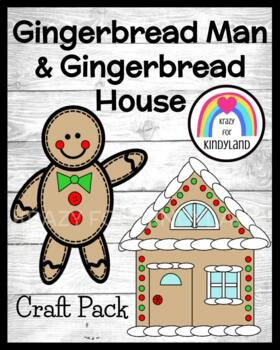 Christmas Craft: Gingerbread Man and House
