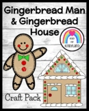 Gingerbread Man and House Craft (Christmas)