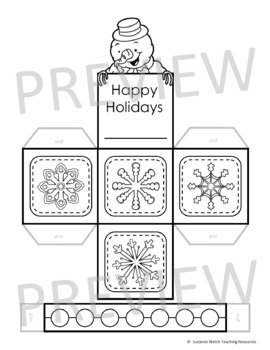 Christmas Craft - Make a Paper Gift Basket