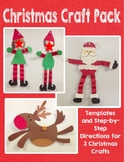 Christmas Craft Pack: Santa, Elves, and Reindeer
