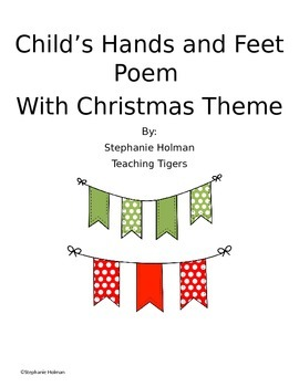 Christmas Craft Poem