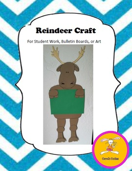 Christmas Craft - Reindeer