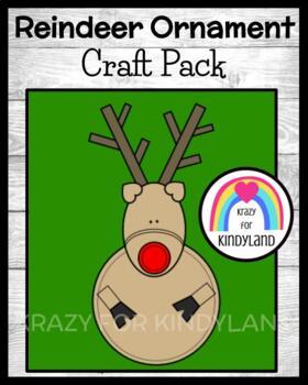 Christmas Craft: Reindeer Ornament