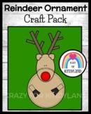 Reindeer Ornament Craft for Kindergarten (Christmas)