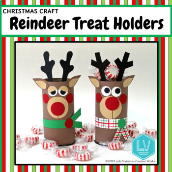 Christmas Craft- Reindeer Treat Holders