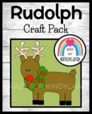 Rudolph Craft  for Kindergarten (Christmas)