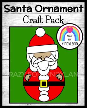 Christmas Craft: Santa Ornament