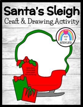Christmas Craft: Santa's Sleigh
